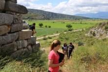 Gla, btw the Mycenaeans drained the Copaic Basin