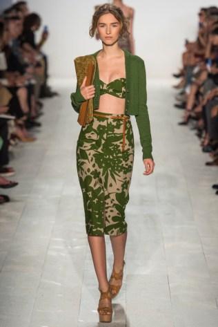 Michael-Kors-Spring-2014-printed-green-skirt-and-top--600x899
