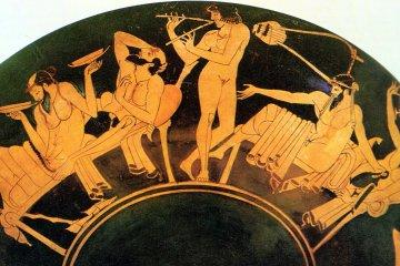 αρχαίο ελληνικό συμπόσιο