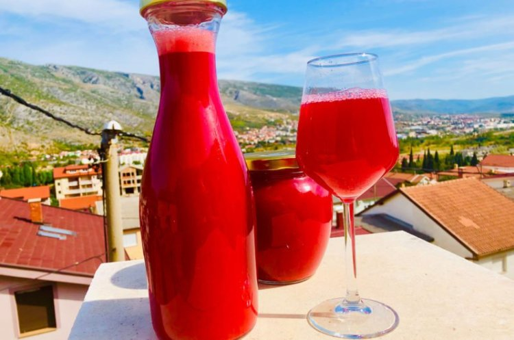 Cornelian cherry sugar-free syrup