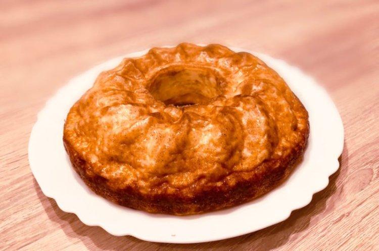 Savoury Keto Cheesecake in a Bundt
