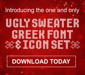 Ugly Christmas Sweater Font Thecannonballorg