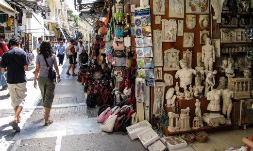 Monastiraki bazar in Athens