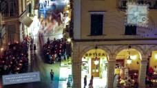 Corfu old town street