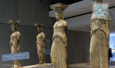 Caryatid Statues at the Acropolis