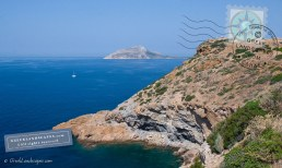 Temple of Poseidon over the cliff