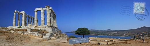 Temple of Poseidon in Sounion, Attica