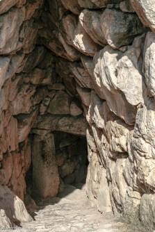 underground cistern at Mycenae