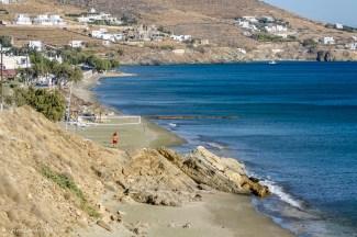Sandy beach of Pachia Ammos