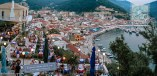 Night view of Parga