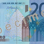 Photo of 20 Euro specimen