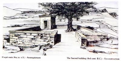 Hiera Oikia reconstruction drwaing