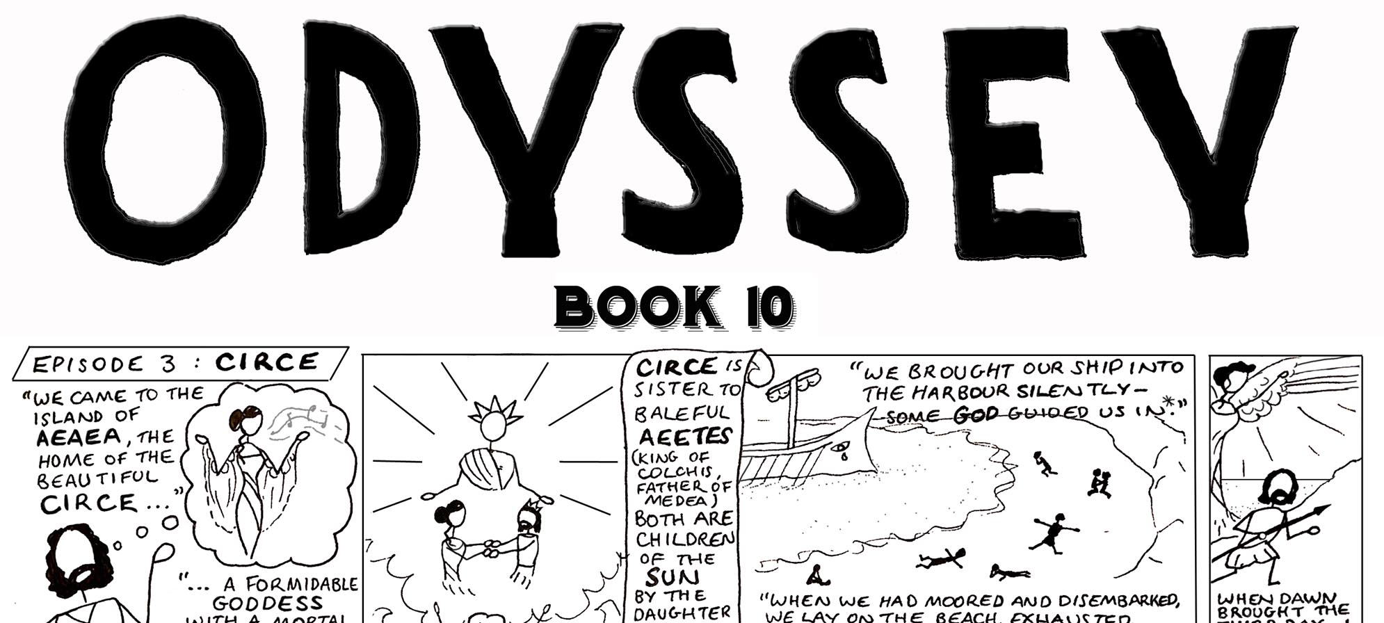 The Odyssey, Book 10