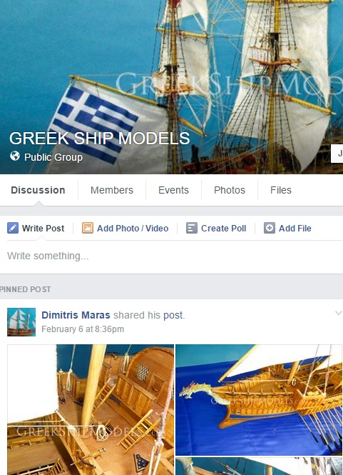 Greek Ship Models Facebook Group