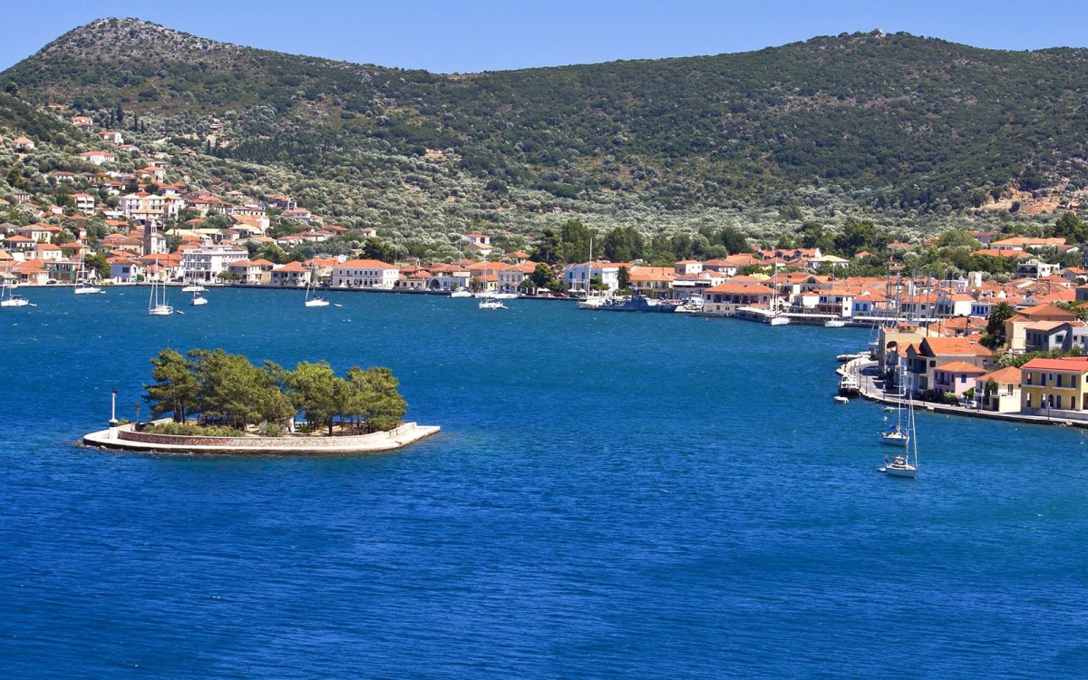 Yacht Charter Ithaki island Sailing in Greece
