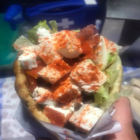 Greek Wrap catering Feta Wrap