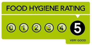 food hygiene rating level 5