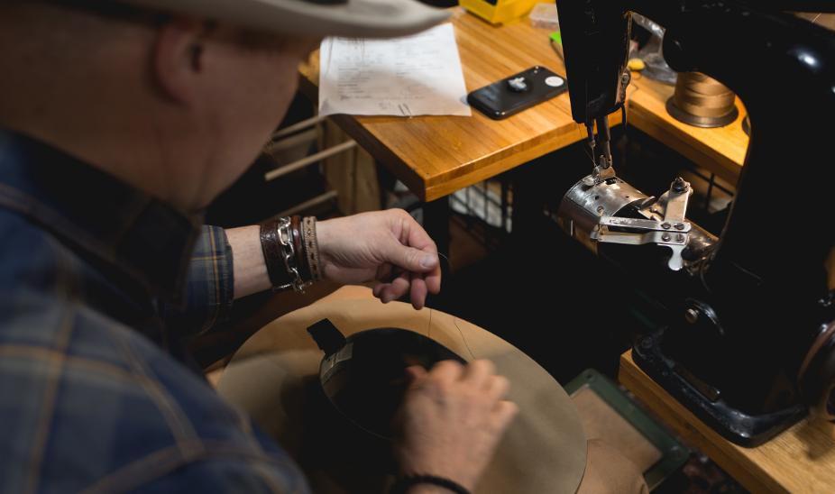 Trent Johnson Custom Hatmaker Mad Hatter Greeley Hat Works