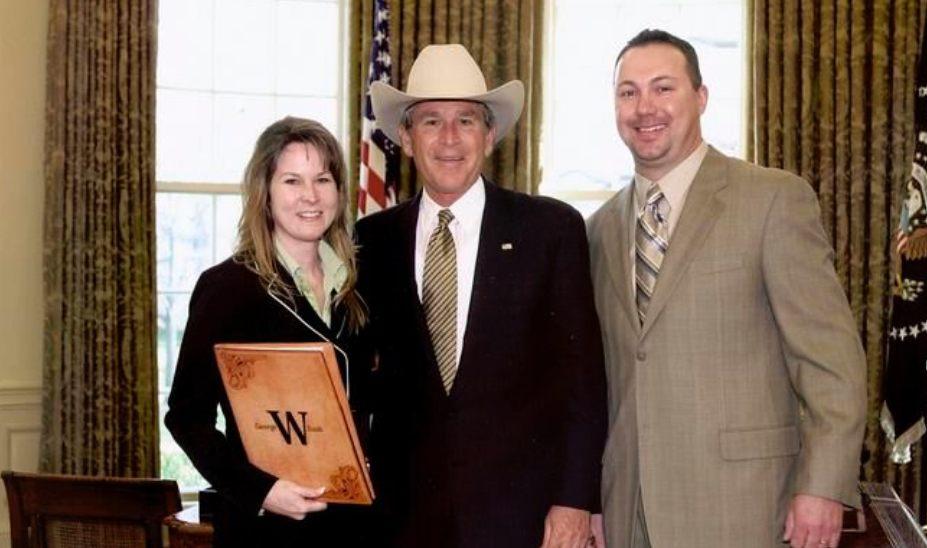 Trent Johnson George W Bush Greeley Hat Works