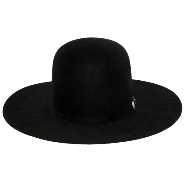 Greeley Hat Works Pure Beaver Black