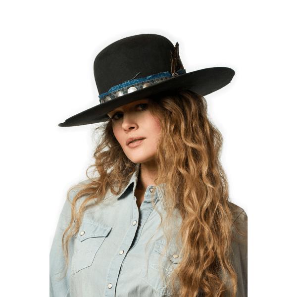 Greeley Hat Works Double D Ranch Buffalo Joe Charcoal Grey