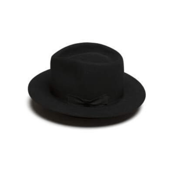 Greeley Hat Works The Look Fedora Black