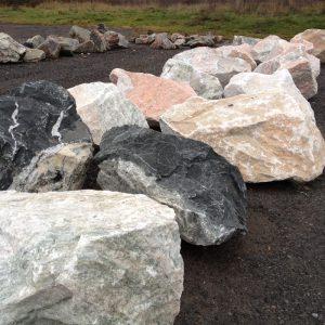 decorative landscape boulders