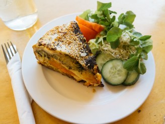 De Bolhoed Quiche Green Amsterdam vegan spots