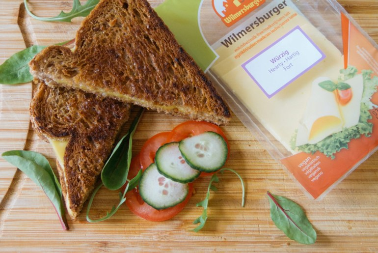 what's the best vegan cheese for grilled vegan cheese sandwiches?