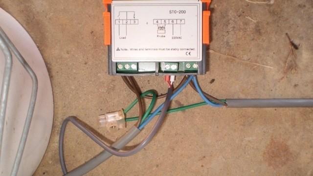 Fridge Thermostat Wiring Diagram