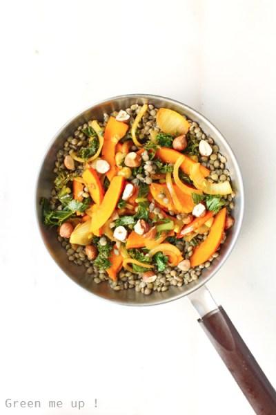poelee-lentilles-potimarron-kale-noisettes copie