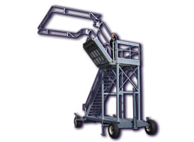 Portable Transloading Platforms by GREEN