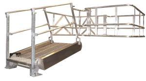 GREENLINE Gangway: Model SB – Flat Ramp | Green-Mfg.com