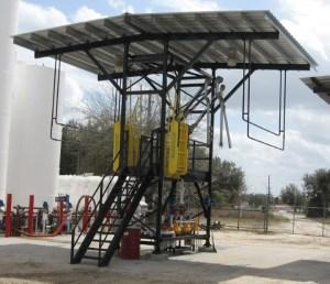 Truck Pipe Rack >> GREEN Tank Truck Loading Racks and Platforms ...