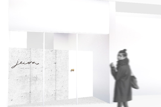 reiam店舗内装パース02