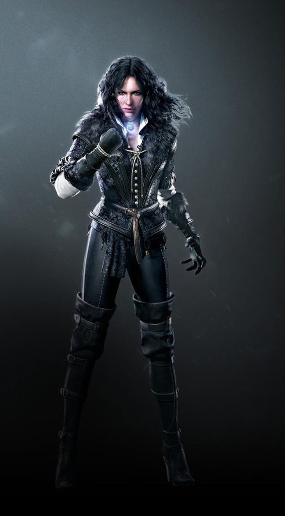 Yennefer aus Witcher 3: Wild Hunt