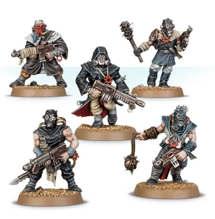 Chaos Cult Figures