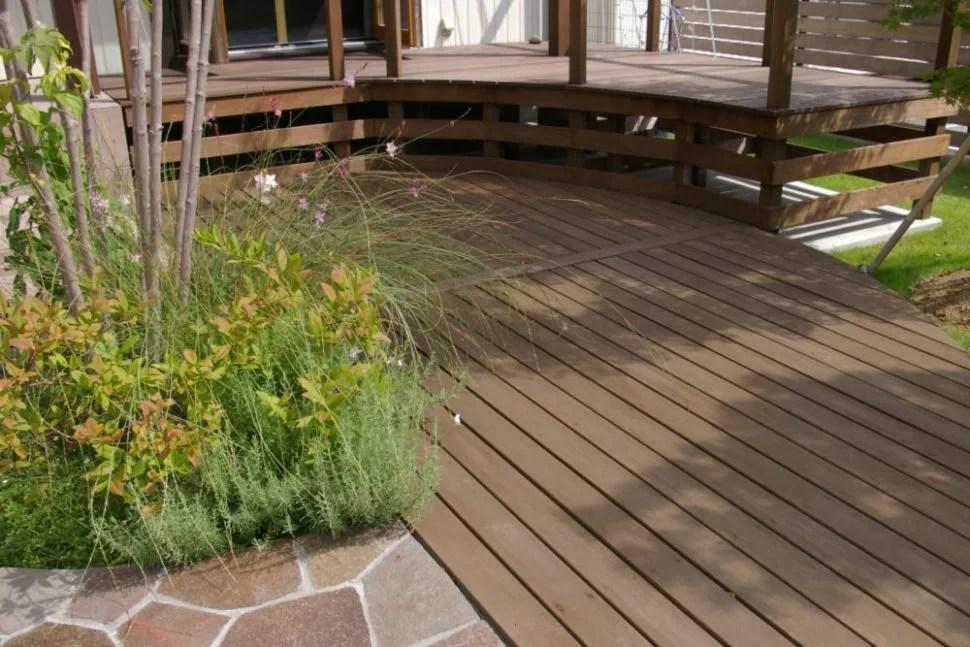 ウッドデッキ-Wood deck