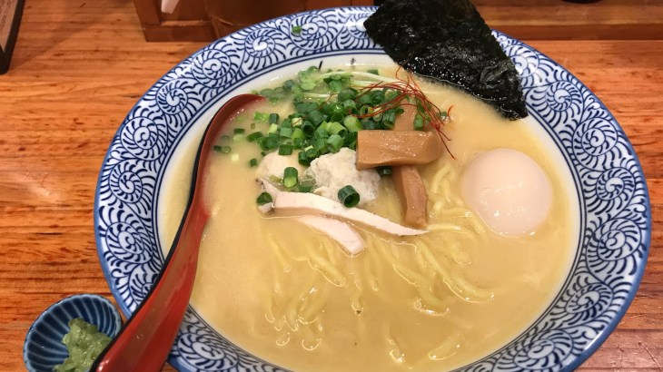 濃厚鶏白湯の「赤坂麺処 友」いってきた!