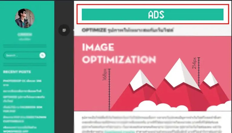 ads หารายได้จากเว็บ