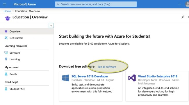 See all software เพื่อดู วิธีขอ Product Key Windows 10