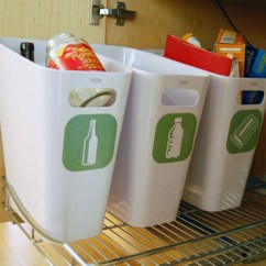 Kitchen Trash Can Pull Out Braided Chair Pads For Chairs 5 Great Recycling Bins To Make Living Green Easier | The ...