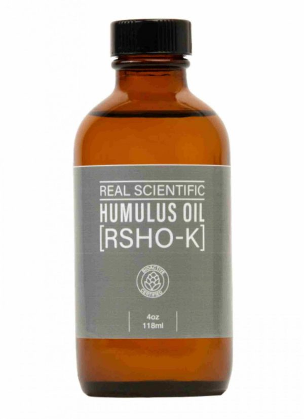REAL SCIENTIFIC HUMULUS OIL (RSHO-K) - CBD LIQUID - 4 OZ. - 1000MG CBD