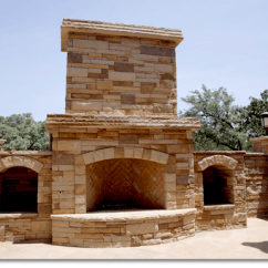 Stacked Stone Outdoor Kitchen Small Rugs Natural Fireplace Gallery: Green Acre Sod | Tulsa ...