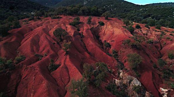 Κοκκινοπηλός: Ένα τοπίο από τον… Άρη, λίγο έξω από τη Φιλιππιάδα (φωτο+vid) | Green Agenda