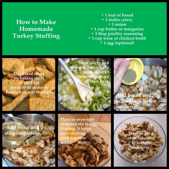 how to make an easy turkey stuffing