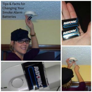 Tips & Facts for Changing Your Smoke Alarm Batteries with Rayovac