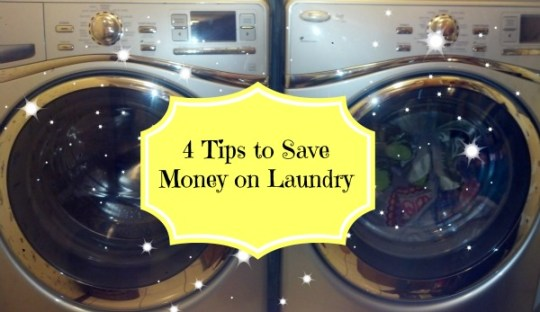 Save money on your laundry with these easy tips and a liquid laundry detergent recipe! #green
