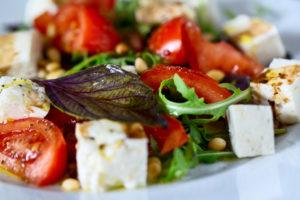 Fresh vegetable salad for autumn #fall #healthy