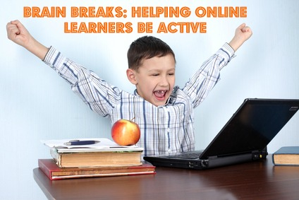 Brain Breaks for Helping Online Learners #k12 #teaching